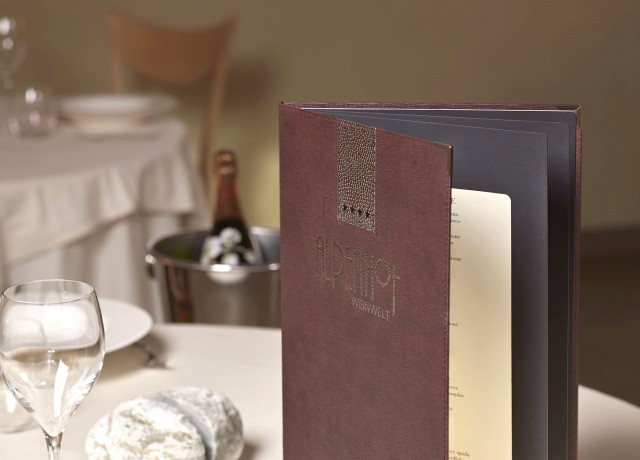 Porta men personalizzati portamenu ristorante personalizzati - Ristorante la finestra padova ...